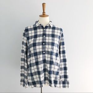 J. Crew Plaid Button Down Shirt Size Medium